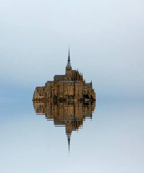 Mont-Saint-Michel (Manche, Normandie - France)