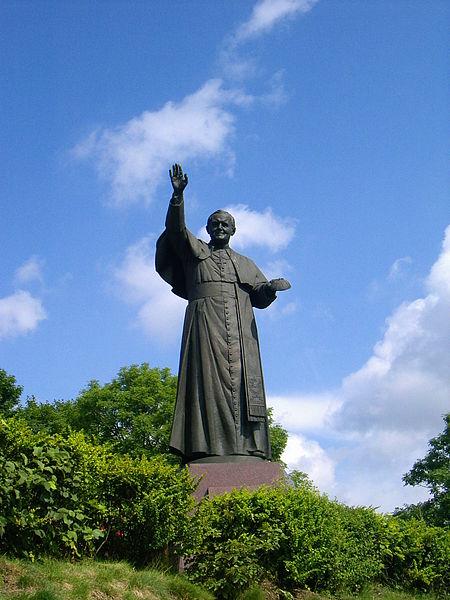 Statue de Jean-Paul II à Jasna Gora (Pologne)