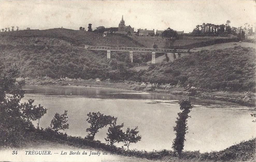 Carte ancienne de Minihy-Tréguier (Côtes-d'Armor)