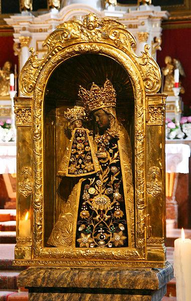Vierge Noire d'Altötting (Bavière)