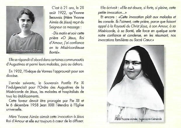 Biographie mere yvonne aimee de jesus parousie overblog fr