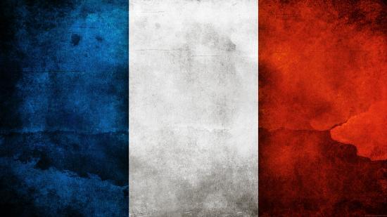 Drapeau francais peinture parousie over blog fr